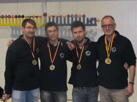 Pascal Sittmann im besten Team Deutschlands